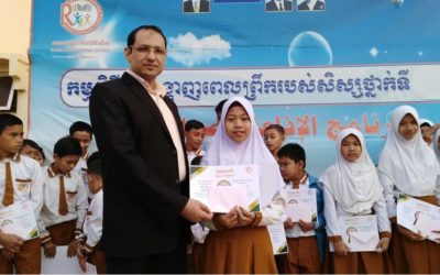 Estimating orphans and students under the sponsorship of Relief4life Establishment