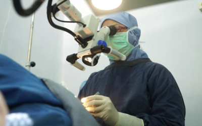 Eyes surgery  White water removal process