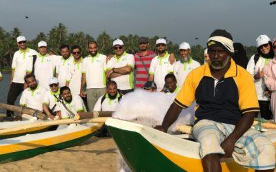 Distributing developmental projects (fishing boats)