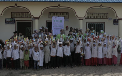 An opening of a class in Cambodia