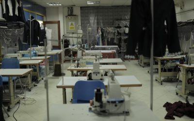 Distributing development projects (sewing machines)