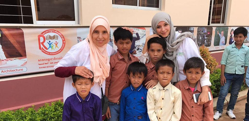 كفالة 20 طالب تعليم أساسي بكمبوديا