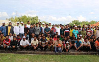 مركز رعاية اللاجئين الروهينجيا