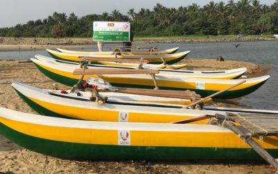 Development projects distributing (fishing boats)
