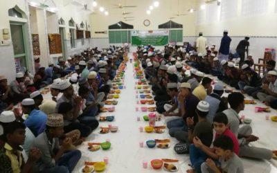 Fast Iftar project for 1439 Hijri (Participant Khairat Basket)