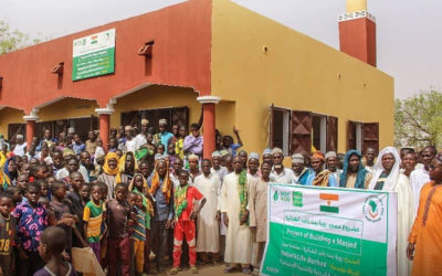 Openning new.mosque in Niger