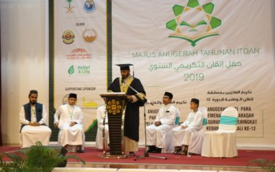 ITQAN annual honorary ceremony for Holy Quran memorizers with Relief4life support