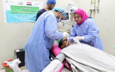 إجراء عمليات جراحية دقيقة لإخواننا اللاجئين اليمنيين في جيبوتي
