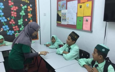 Test 10 of Rohingya school students' in Cambridge center for English