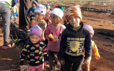رحلة تطوعية إلى الأردن عطاؤكم دفء