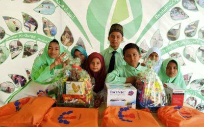 Integrated summer activities in AL Rohingya students school