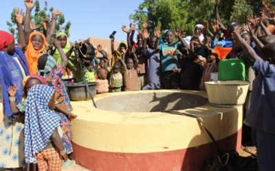 Care and Social Dev Org in Niger delivered 8 wells as a step from drilling 21 wells