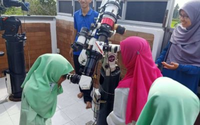 Rohingya students participate in the Scientific Conference of the Astronomical Academy of Kelantan, Malaysia