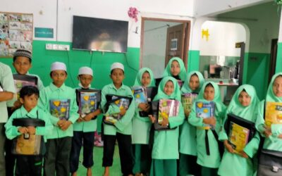 Al Rohingya school started the educational activities after long lockdown because COVID-19