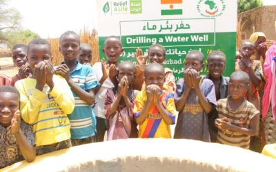 Drilling Paint Your Life And Live Different wells in Niger